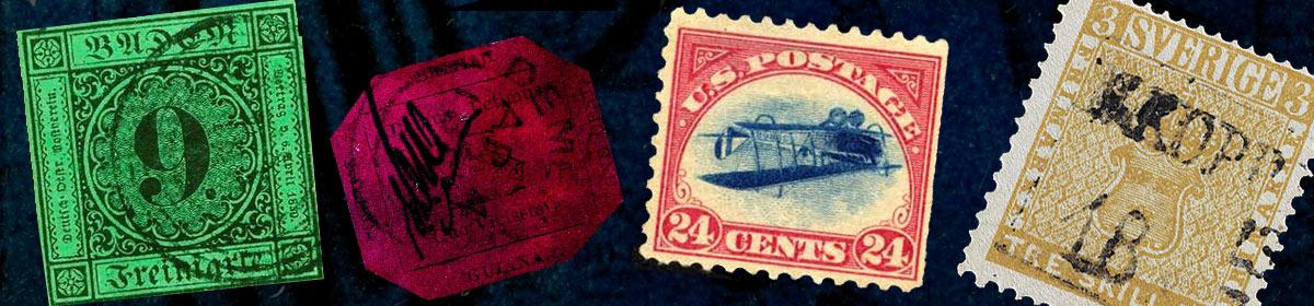 Les timbres les plus chers du monde